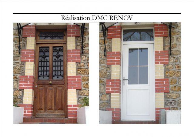 Remplacement d 39 une porte d 39 entr e menuiserie ext rieur for Remplacement porte interieur